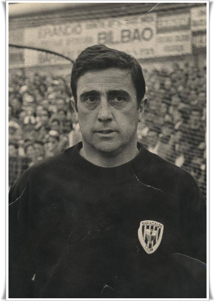 Bitoren Bilbao portero del Club Baracaldo 1972-75