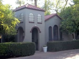 Spanish Mission Home In Los Olivos Phoenix