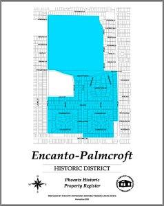 encanto,palmcroft,historic,district,map,realtor,neighborhood,real,estate