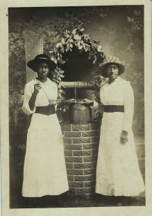 Two Women by a Well