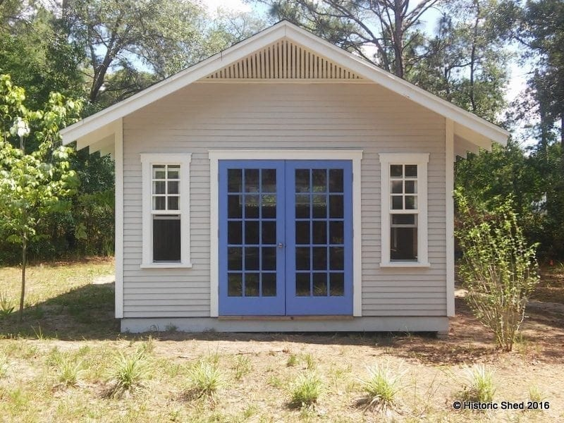 Historic Shed 14x16 Front Facade