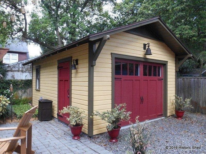 Craftsman Bungalow Garage Orlando