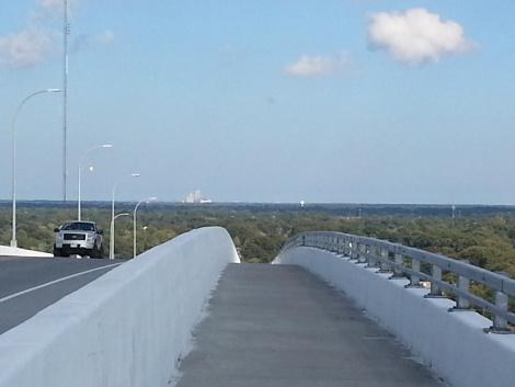 Biking the Jordan Bridge