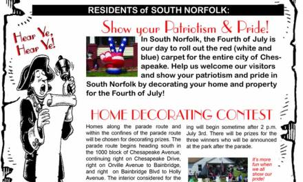 Here's the 4-1-1 on South Norfolk's July 4th