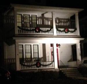Decorated home on Chesapeake Avenue