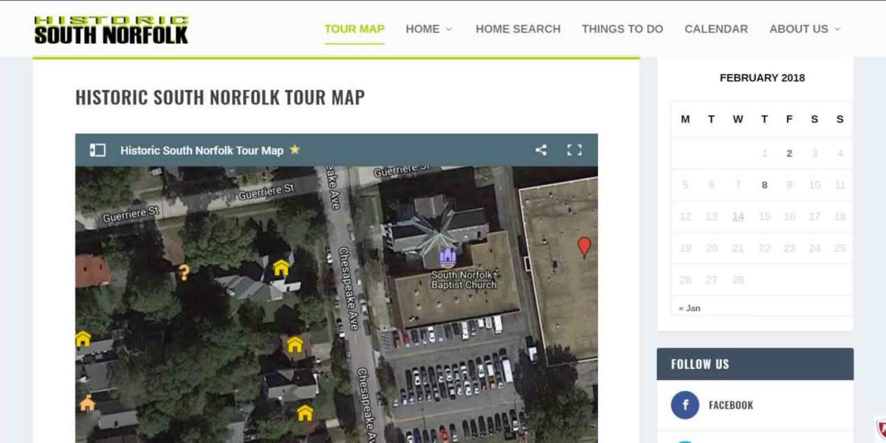 Historic South Norfolk Tour Map now available