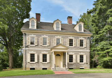 Historic Upsala Mansion in Mt. Airy Germantown Philadelphia Pennsylvania