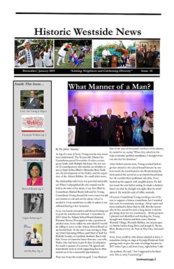 Historic Westside News Issue 12, January 2019