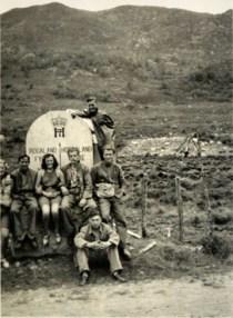 Arbeidsfeltet på Favnabø ses i bakgrunnen