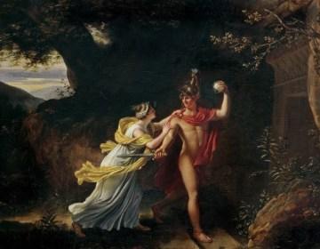 Jean Baptiste Regnault - Ariadne en Theseus