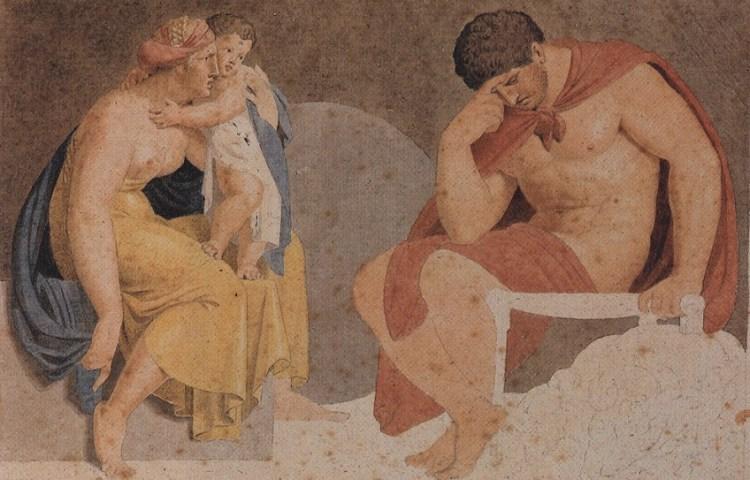 Treurende Ajax (Asmus KJacob Carstens, ca. 1791)