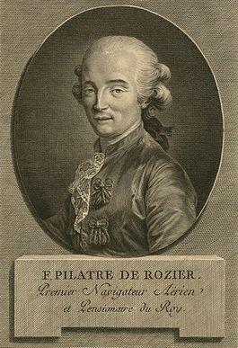 Jean François Pilâtre de Rozier