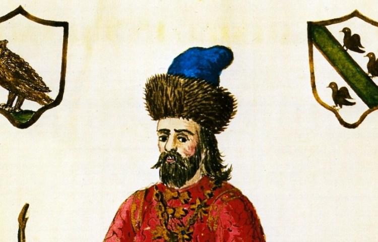 Marco Polo in Mongoolse kledij