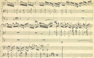 Afdruk van de gevonden compositie (Foto: Universiteits-bibliotheek Halle)
