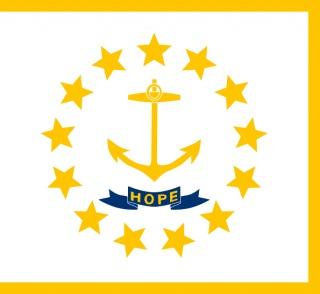 Vlag van Rhode Island