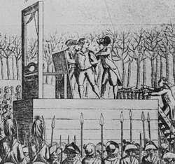 Executie van koning Lodewijk XVI