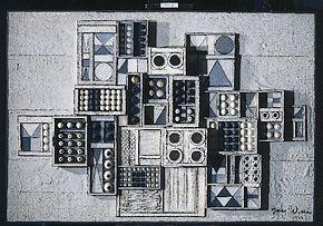 Jan Wolkers, Zonder titel, 1978, hout en verf (Afbeelding: Lakenhal)