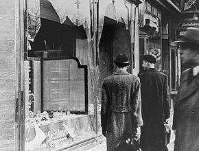 Verschillende herdenkingen Kristallnacht