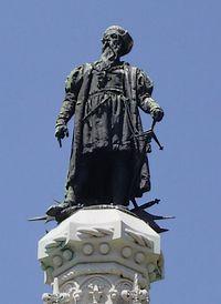 Standbeeld van Albuquerque in Lissabon