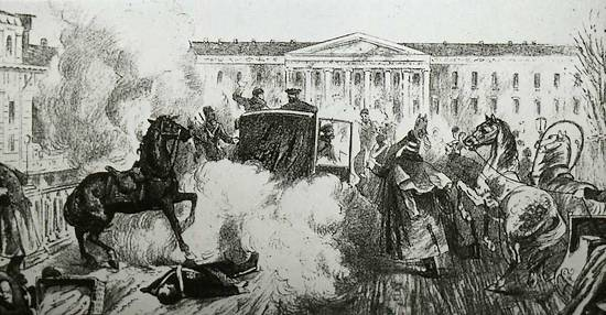 Aanslag op tsaar Alexander II van Rusland