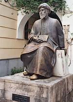 Beeld ter ere van Maimonides in het Spaanse Córdoba