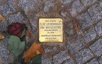 Stolperstein in Berlijn