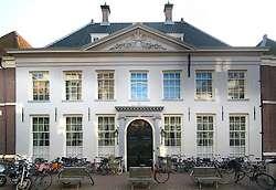 Het West-Indisch Huis in Amsterdam, voormalige hoofdkwartier van de West-Indische Compagnie