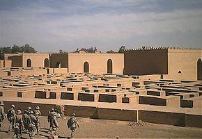Amerikaanse mariniers bij Babylon (2003)