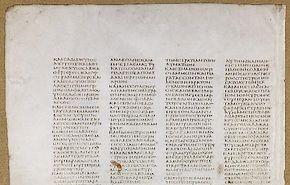 800 pagina's Codex Sinaiticus online