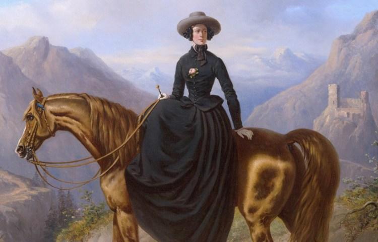 Alexandrine Pieternella Françoise Tinne (1835-1869) . Door Henri Auguste d Ainecy Montpezat