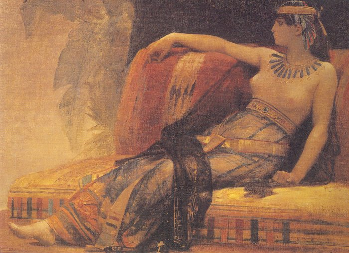 Cleopatra volgens Alexandre Cabanel