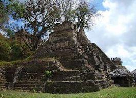 Willekeurige foto van een Maya-piramide