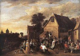 Vlaamse Kermis – David Teniers de Jonge, 1652
