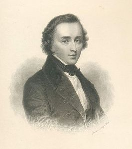 Chopin op ongeveer 23-jarige leeftijd