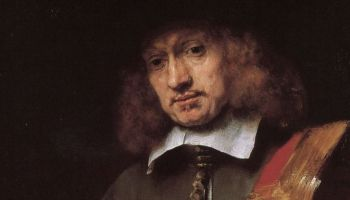 Rembrandts portret van Jan Six (detail)