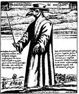 Snaveldokter of pestmeester uit Rome, 1656