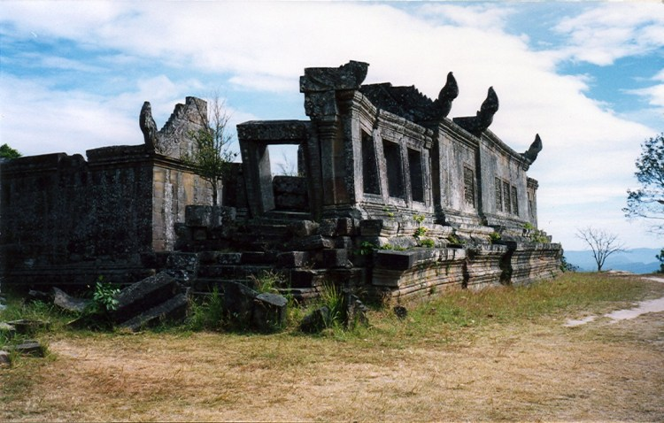 Deel van de tempel in 2003