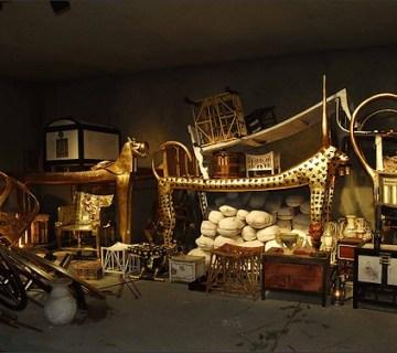 Replica van de grafkamer van Toetanchamon die enkele jaren geleden gemaakt werd voor een rondreizende tentoonstelling – Foto: A.-M. v. Sarosdy