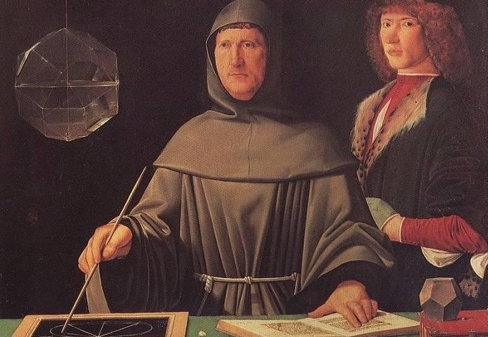 Schilderij van Luca Pacioli