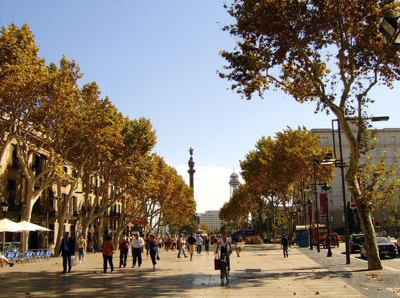 De Rambla van Barcelona, of moet het Ramblas zijn?