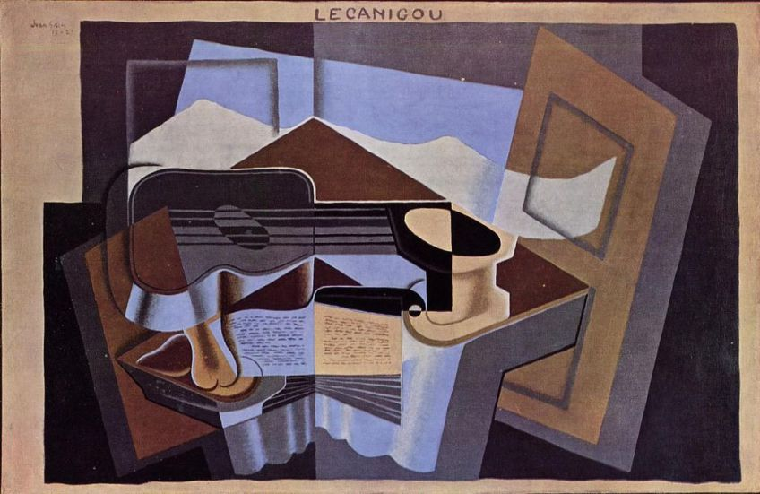 Juan Gris - Le Canigou, 1921, Albright-Knox Art Gallery, Buffalo, New York