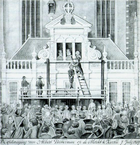 7 juli 1837 – Albert Wetterman wordt opgehangen