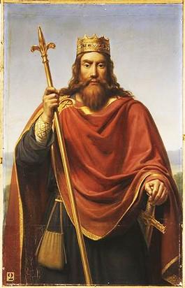 Clovis I, de eerste christelijke koning van de Franken