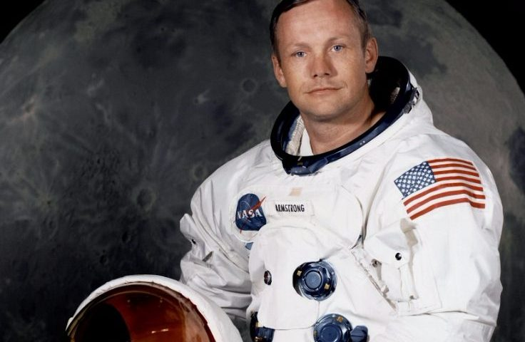 Neil Armstrong in 1969 - NASA