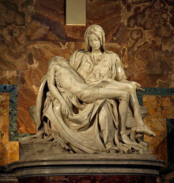 De Pietà van Michelangelo (1499)