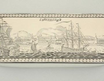 De aangekochte tabaksdoos – Foto: Scheepvaartmuseum