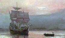6 september 1620 - De Mayflower vertrekt uit Plymouth