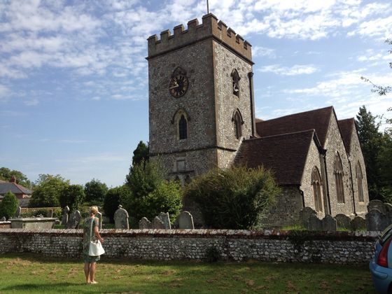 St. Andrews Church in Owslebury - Foto: Kristine Groenhart