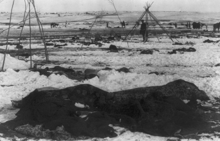 Wounded Knee na de Slag