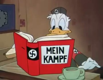 Donald Duck als nazi